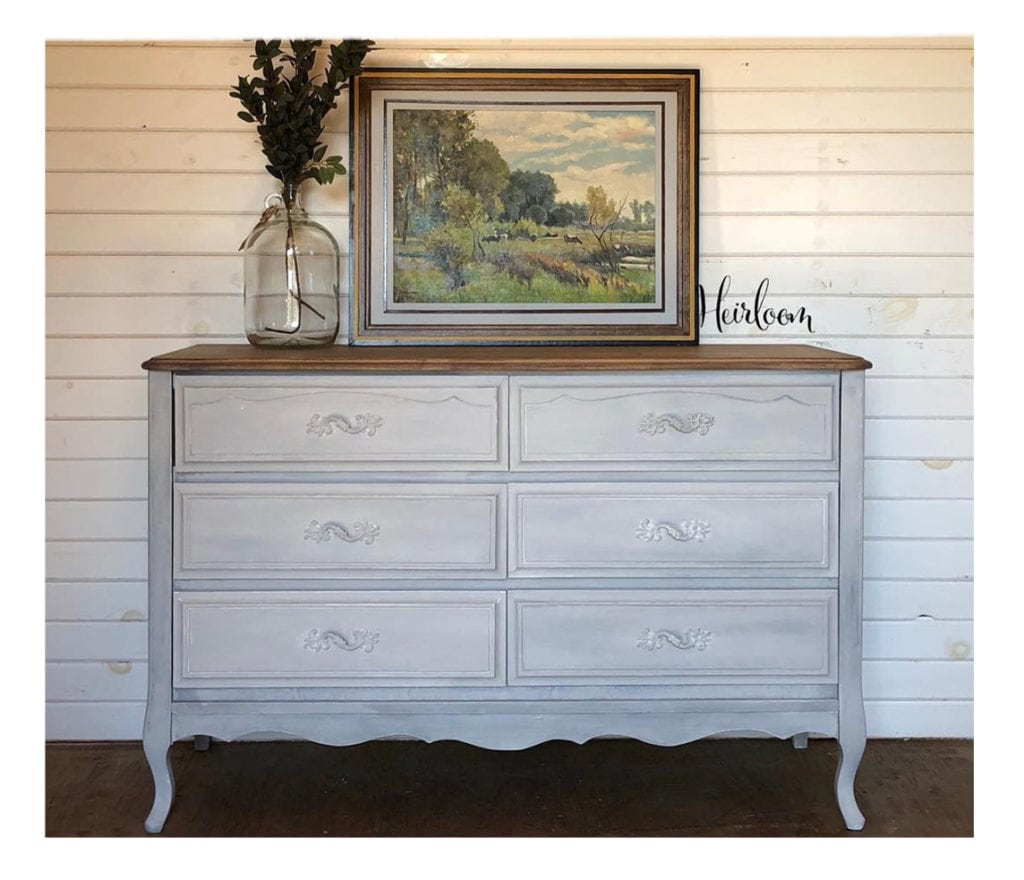 French provincial dresser heirloom furnishings