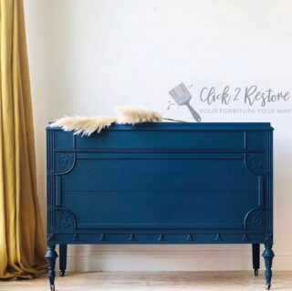 Monday's #zibraweeklypick is by @click2restore - Jo painted this dresser in a beautiful blue called Anchor by @wiseowlpaint. Really beautiful job, Jo! #furniturerefinishing #nightstand #navydresser #refurbishedpieces #transformation #enjoypainting #vintagenightstands #antiquefurniture #paintedfurniture #furniture #homeinterior #antquedresser #paintedrestoration #vintagestyle #click2restore #wiseowlpaint #zibraweeklypick