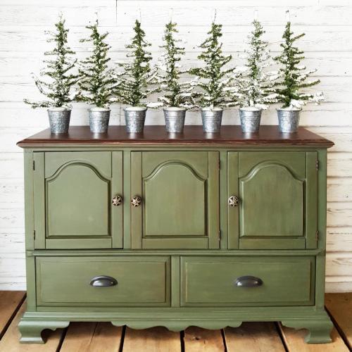 Woodland Green Buffet